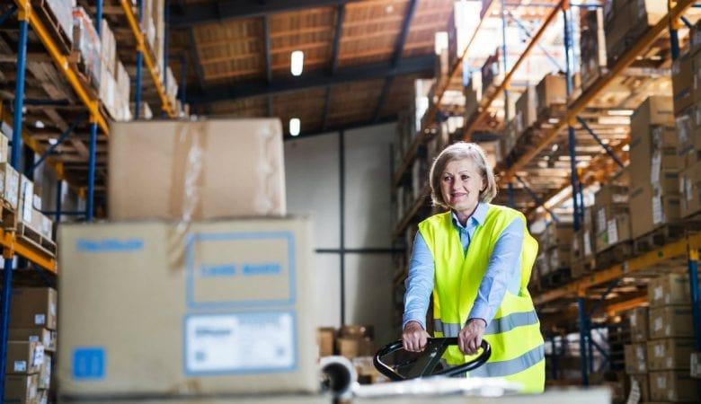 terceirização de logística com empilhadeiras no ABC